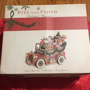 Fitz and Floyd Musical Car.